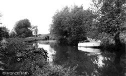 The Canal Bridge c.1960, Lower Heyford