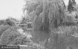 The Canal c.1955, Lower Heyford