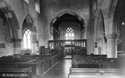 The Church Interior c.1960, Lower Heyford