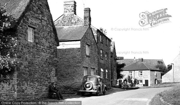 Lower Heyford, the Green c1955