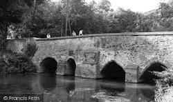 The Long Bridge c.1955, Lower Heyford