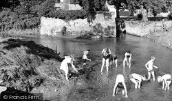 The River Cherwell c.1960, Lower Heyford