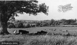 View From Cherwell Bank c.1960, Lower Heyford