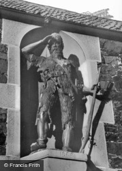 Statue Of Alexander Selkirk (Inspiration For Robinson Crusoe) c.1965, Lower Largo
