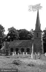 St Mary's Church c.1955, Lower Slaughter