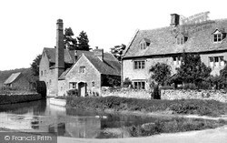 The Mill And Pond c.1955, Lower Slaughter