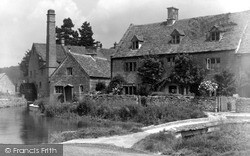 The Mill c.1955, Lower Slaughter