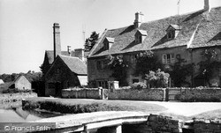 The Post Office c.1955, Lower Slaughter