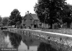 The Stream c.1955, Lower Slaughter