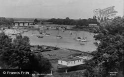 Bursledon Bridge c.1955, Lower Swanwick
