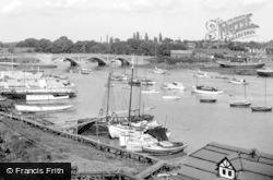 Hamble River c.1965, Lower Swanwick