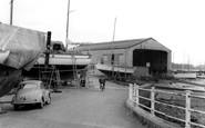 Lower Swanwick, Moody's Boatyard c1960
