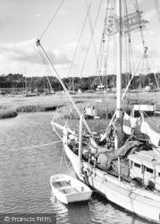 River Hamble c.1955, Lower Swanwick