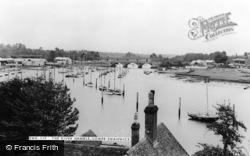 The River Hamble c.1955, Lower Swanwick