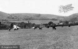 Lower Weare, Crook Peak c.1955