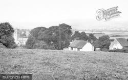 Lower Weare, General View c.1955