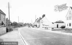 Lower Weare, Main Road c.1955