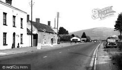 Lower Weare, The Main Road c.1955