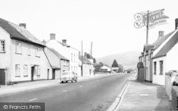 Lower Weare, The Main Road c.1960