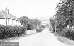 Lower Weare, The Village c.1955
