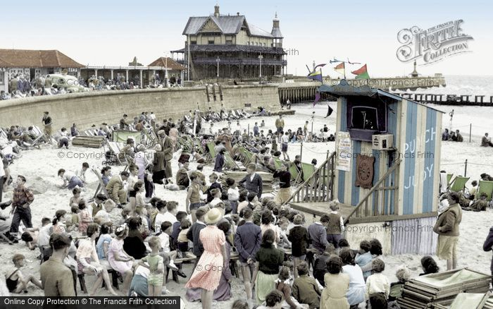Photo of Lowestoft, Punch And Judy, Children's Corner 1952