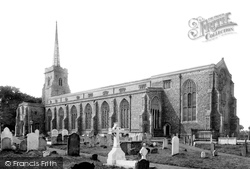 Lowestoft, St Margaret's Church 1887