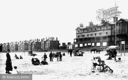 Lowestoft, The Beach 1887