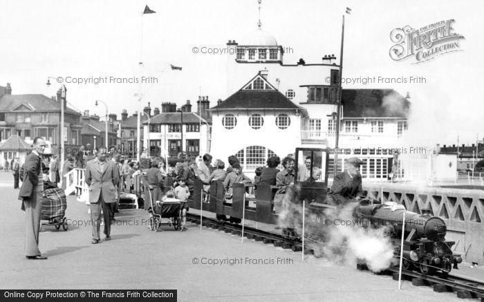 Lowestoft, The Pier Miniature Railway c.1955