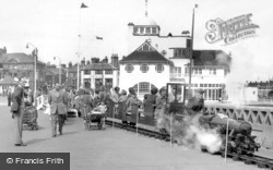 The Pier Miniature Railway c.1955, Lowestoft