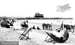 The South Pier From The Sands 1896, Lowestoft