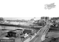 The Swing Bridge c.1955, Lowestoft