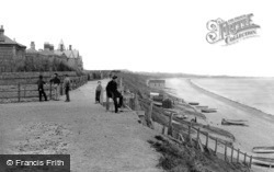 Lowestoft, The View From Pakefield 1890