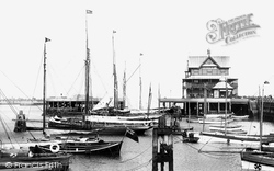 Lowestoft, Yacht Basin 1896