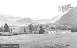 Church Kirkstile And Crummock Water c.1939, Loweswater