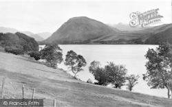 The Lake And Melbreak c.1939, Loweswater