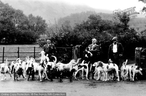 Photo of Loweswater, the Melbreak Hounds c1939