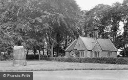 Barmoor War Memorial c.1955, Lowick