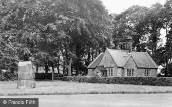 Lowick, Barmoor War Memorial c1955