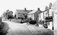 Lowick Bridge, Red Lion Inn and Farm c1955
