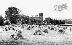 Lowick Bridge, St Luke's Church c.1955