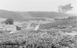 Lowick Green, From The Fell c.1955