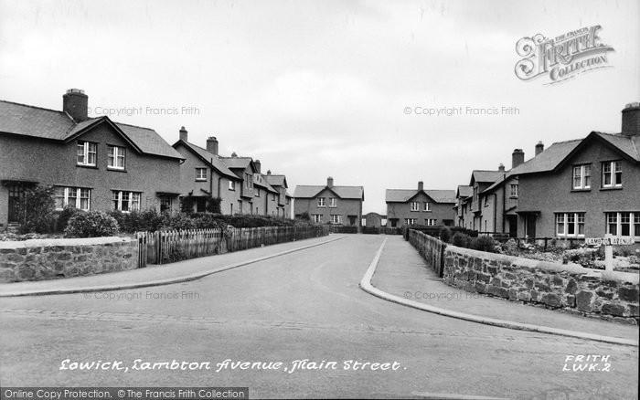 Photo of Lowick, Lambton Avenue c.1955