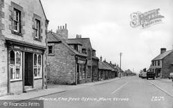 Post Office, Main Street c.1955, Lowick