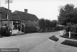 Loxwood, Post Office And Hall House c.1950
