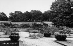 Loxwood, Rose Gardens, Loxwood Hall c.1955