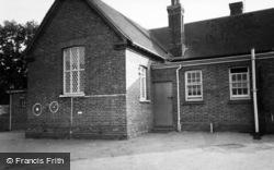 Loxwood, School c.1960