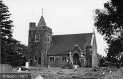 Loxwood, St John The Baptist Church c.1955