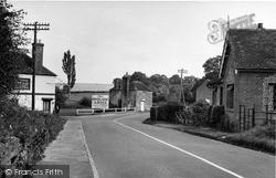 Loxwood, The Onslow Arms Corner c.1950