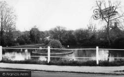 Loxwood, The Pond c.1965