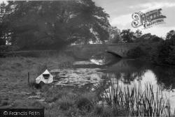 Loxwood, The River And Bridge c.1950